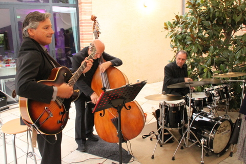 Jazz band live in Touny