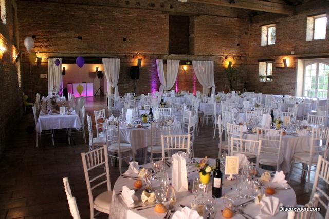 salle réception de mariage Merville