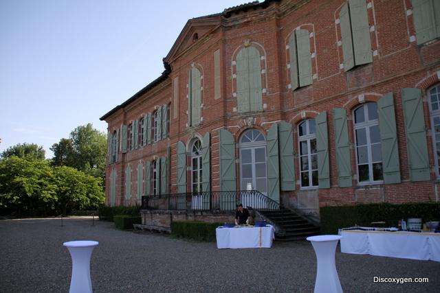 Terrasse chateau de merville