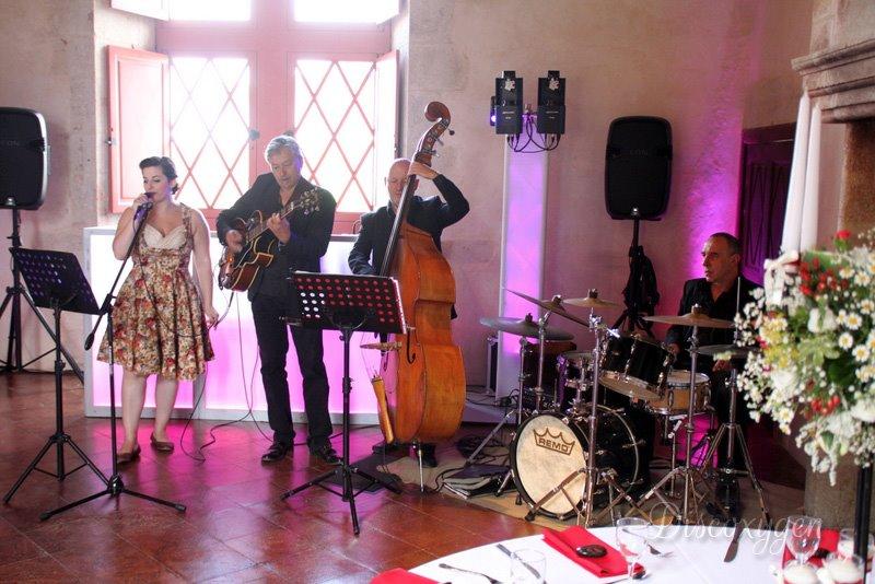groupe jazz au chateau de gramont