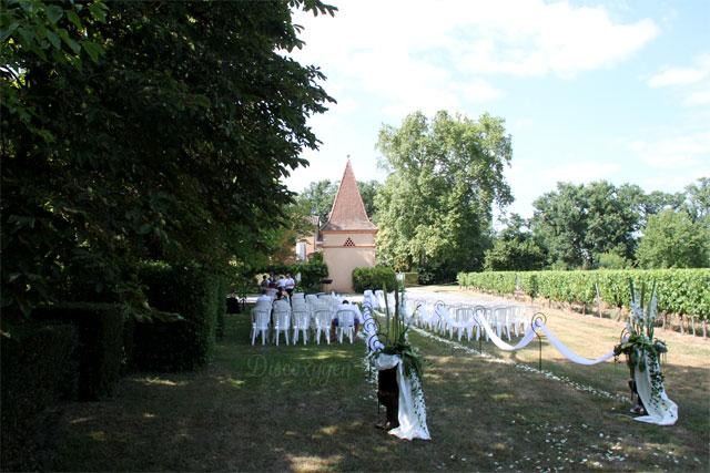 De grands espaces pour votre cérémonie laïque en plein air.