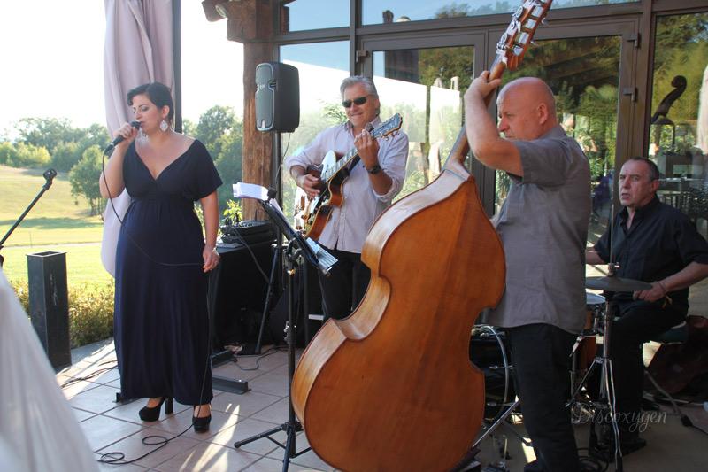 Musiciens au Golf Estolosa